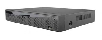 Harddiskoptager NVR 25 kanals, 16 x PoE